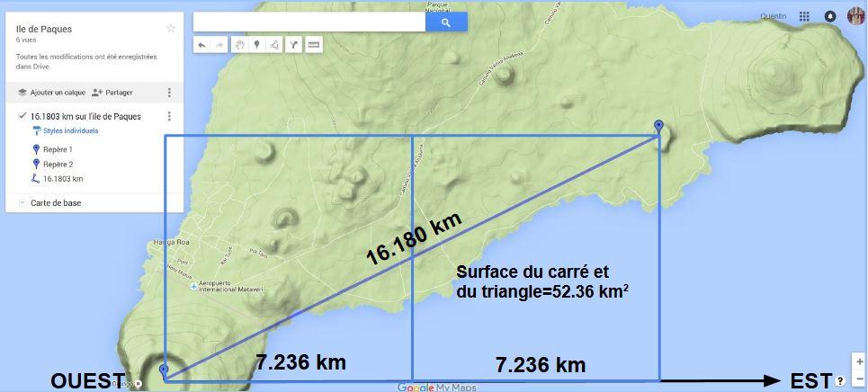 bi carré de 16.180 km