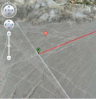 point central des lignes de Nasca