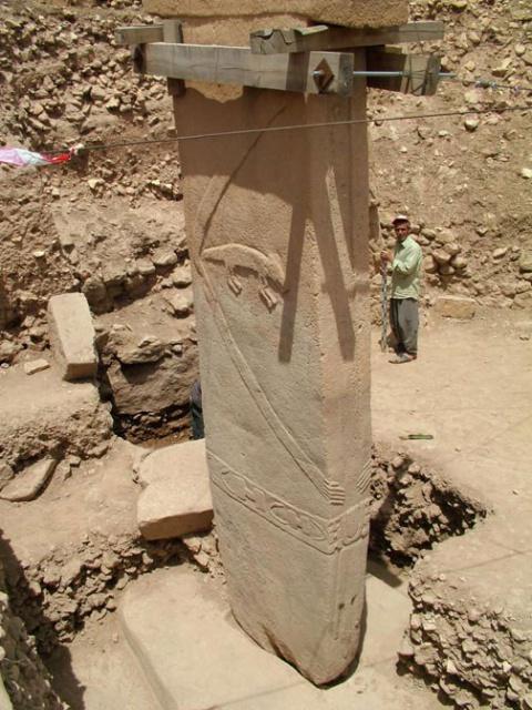 Gobekli tepe statue