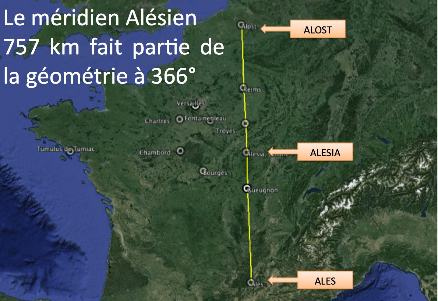 Ligne d'or Alésia