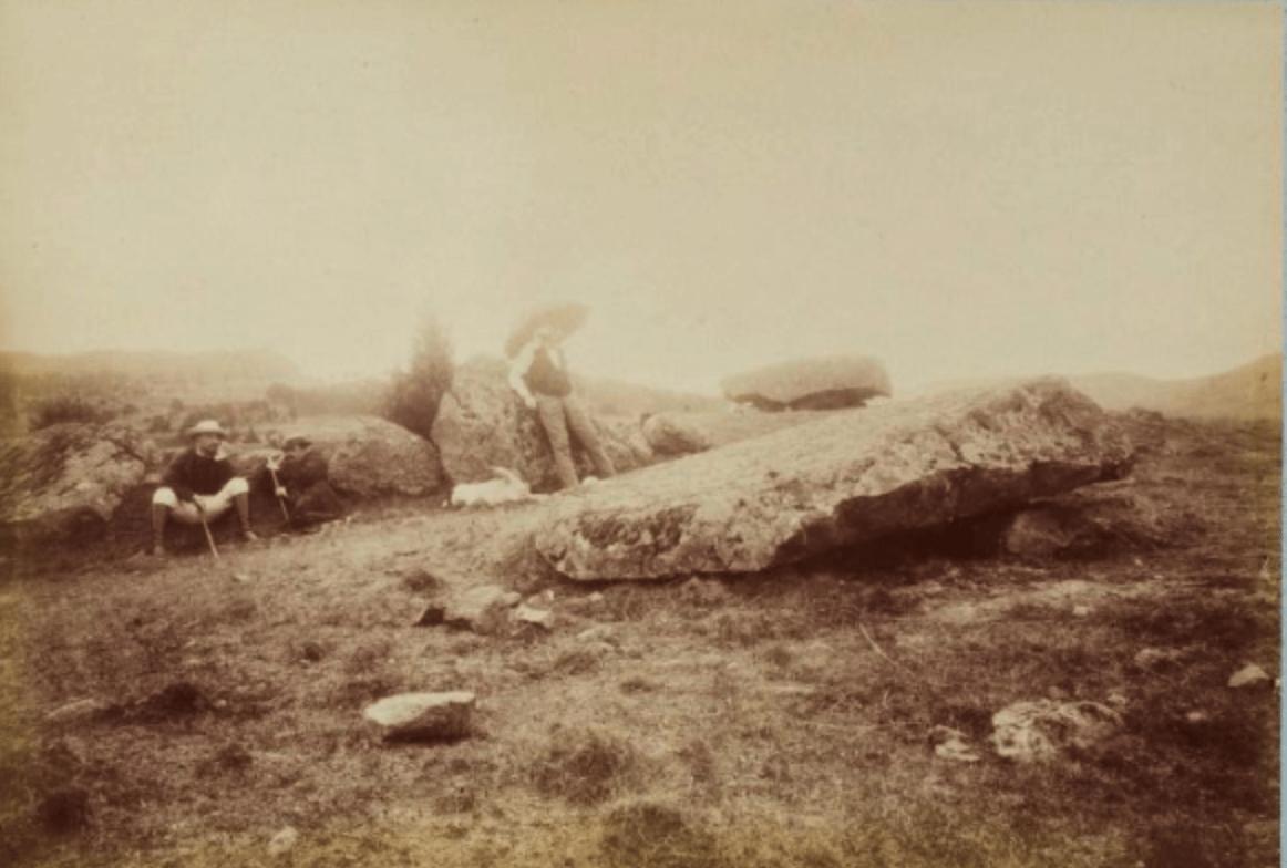 dolmen ruiné de Sapchat